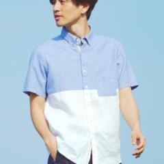 ザ ショップ ティーケー(メンズ)(THE SHOP TK Mens)/【ノルマンディーリネン】カラミ織りシャツ