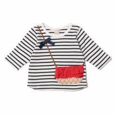 プティマイン(petit main)/バッグトロンプルイユTシャツ