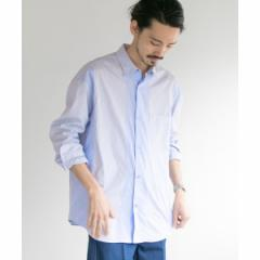 アーバンリサーチ(メンズ)(URBAN RESEARCH)/メンズシャツ(STRIPE PATCH SHIRTS)
