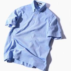 シップス(メンズ)(SHIPS)/SC: COOLMAX(R) コットン/リネン カノコ ボタンダウン ポロシャツ