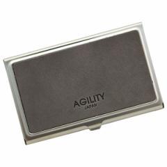アジリティーアッファ(AGILITY Affa)/ピアット/MAINE(グレー)【カードケース 名刺入れ】