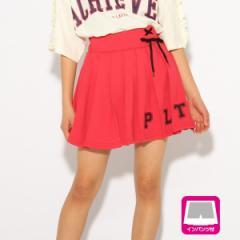 ピンク ラテ(PINK latte)/カットプリーツスカート