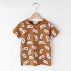 シューラルー(キッズ)(SHOOLARUE Kids)/総柄アソート半袖Tシャツ