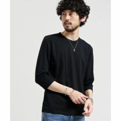 ナノ・ユニバース(メンズ)(nano universe)/【18SS】スラブクルーネックTシャツ 7/S