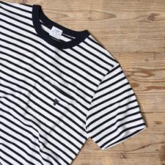 コーエン(メンズ)(coen)/スラブボーダーポケットTシャツ