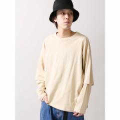 ウィゴー(メンズ)(WEGO)/ウィゴー(WEGO/レイヤードロングTシャツ)