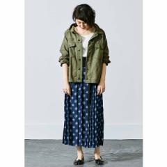フェリシモ レディース(その他)(FELISSIMO Ladies)/古着屋でみつけたようなオーバーサイズミリタリージャケット