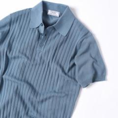 シップス(メンズ)(SHIPS)/Made in Italy: ニット ポロシャツ