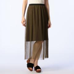 ノーリーズ レディース(NOLLEY'S)/チュールプリーツスカート