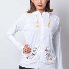 OP(水着)(OP)/OCEANPACIFIC レディース花柄刺繍デザイン長袖ラッシュガード