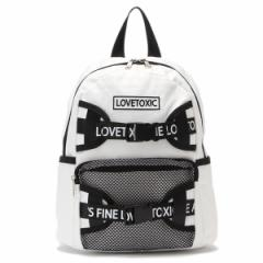 ラブトキシック(Lovetoxic)/ロゴベルトつきリュック