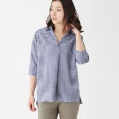 シューラルー(レディス)(SHOOLARUE Ladies)/ギンガムチェックスキッパーシャツ