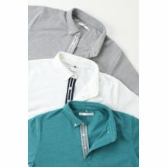 イッカ メンズ(ikka)/【Smart+】リブラインポロシャツ