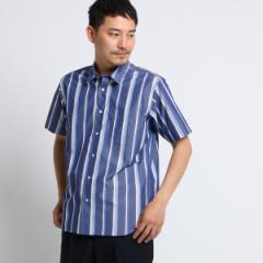 タケオキクチ(TAKEO KIKUCHI)/Mシャツ(マルチストライプシャツ [ メンズ シャツ 半袖 ])