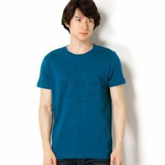 トミーヒルフィガー(メンズ)(TOMMY)/エンボスグラフィックTシャツ