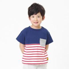 エフオーオンラインストア(F.O.Online Store(SC))/切り替えボーダーTシャツ
