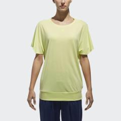 アディダス(スポーツオーソリティ)(adidas)/レディースアパレル W ヨガ フィットTシャツ
