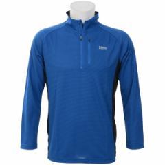 アルパインデザイン(スポーツオーソリティ)(alpine design)/トレッキング ハーフジップアップ長袖シャツ