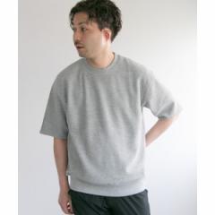 アーバンリサーチ(メンズ)(URBAN RESEARCH)/メンズTシャツ(リバーシブルスウェットTシャツ)