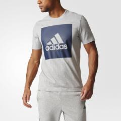 アディダス(スポーツオーソリティ)(adidas)/メンズアパレル M ESSENTIALS ビッグスクウェアロゴ 半袖Tシャツ