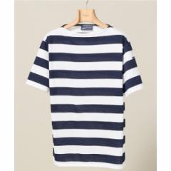 エディフィス(EDIFICE)/メンズTシャツ(SAINT JAMES / セントジェームス PIRIAC WIDE BORDER ボートネックボーダーカットソー)