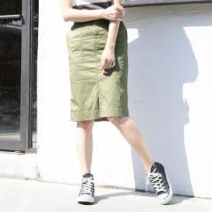 コーエン(レディース)(coen)/チノストレッチタイトスカート