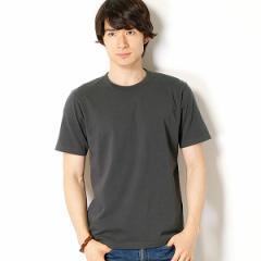 ナノ・ユニバース(メンズ)(nano universe)/【18SS】【WEB限定】∴ピグメント加工クルーネックTシャツ