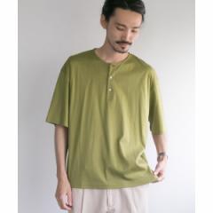 アーバンリサーチ(メンズ)(URBAN RESEARCH)/メンズTシャツ(SMOOTH HENLEY OVER T−SHIRTS)