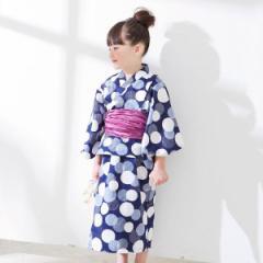 【NEW】エフオーオンラインストア(F.O.Online Store(SC))/ランダムドット柄浴衣セット_日本製生地