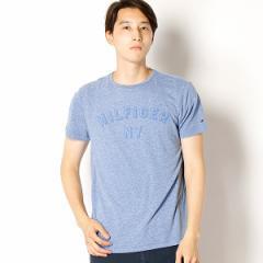 トミーヒルフィガー(メンズ)(TOMMY)/NYロゴヘザーTシャツ