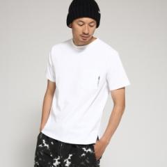 ベース ステーション(メンズ)(BASE STATION Mens)/Tシャツ メンズ クルーネック ポケット 半袖Tシャツ
