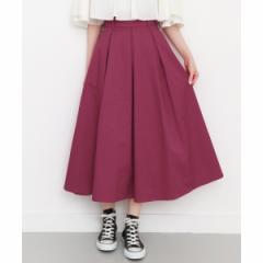 【NEW】KBF(KBF)/レディススカート(カラーフレアスカート)