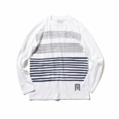カットソー BEAMS MEN BEAMS // メン ミニロゴクルーネックTシャツ 【送料無料】 ビームス