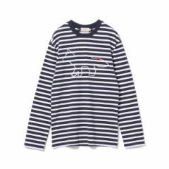 ビームス(BEAMS)/KITSUNE / Marine Long Sleeve Tee
