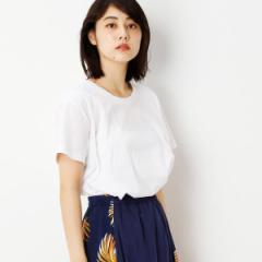 グランドパーク(GRAND PARK)/Aラインシルエット半袖クルーネックTシャツ