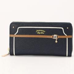 リズリサ(バッグ&ウォレット)(LIZ LISA Bag&Wallet)/カカオ ラウンドファスナー 長財布