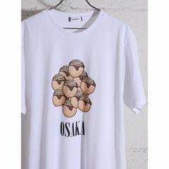 【NEW】ウィゴー(メンズ)(WEGO)/ウィゴー(WEGO/たこ焼きモチーフプリントTシャツ)