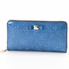 アナスイ(ANNA SUI)/ASネイル ラウンドファスナー長財布(カード入れ22カ所でとっても便利)