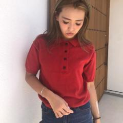 【NEW】アンレリッシュ(UNRELISH)/ポロニットシャツ