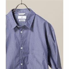 417エディフィス(417 EDIFICE)/メンズシャツ(ストライプ リラックスFIT レギュラーシャツ)