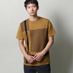 ザ ショップ ティーケー(メンズ)(THE SHOP TK Mens)/MTシャツ(ビッグチェックTシャツ)