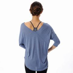 リアルストーン(REALSTONE)/ヨガウェア ヨガウエア レディース 7分袖Tシャツ RealStone