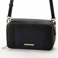 サック(SAC)/お財布機能付カラーコンビショルダーバッグ