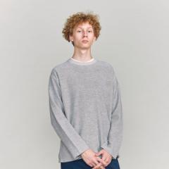 【NEW】ビューティ&ユース ユナイテッドアローズ(メンズ)(BEAUTY&YOUTH)/BY ループ ウラケ フォルム クルーネック
