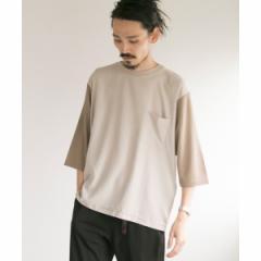 【NEW】アーバンリサーチ(メンズ)(URBAN RESEARCH)/メンズTシャツ(Docking Q/S T−Shirts)