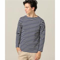 【NEW】エディフィス(EDIFICE)/メンズTシャツ(SAINT JAMES / セントジェームス OUESSANT ボーダーカットソー)