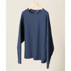 【NEW】エディフィス(EDIFICE)/メンズTシャツ(ATON / エイトン GARMENT DYE URAKE)