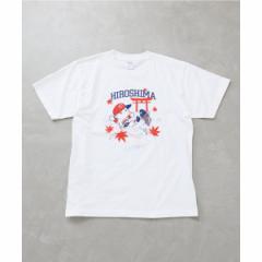 【NEW】エディフィス(EDIFICE)/メンズTシャツ(CARP×EDIFICE コイTシャツ)