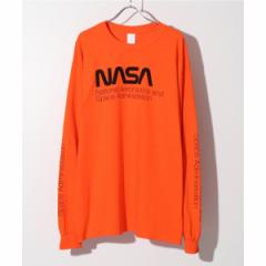 【NEW】417エディフィス(417 EDIFICE)/メンズTシャツ(NASA / ナサ 417別注 WORM LOGO L/S TEE)