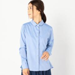 シップス(レディース)(SHIPS for women)/ALANI THE GREY:バックペプラムシャツ